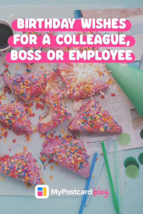 Pin showing triangular pink tonuts laid on top of office papers. On top is the article title.